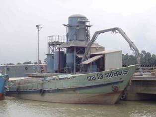 Pneumatic Ship Unloader